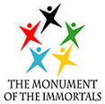the monument of the immortals logo